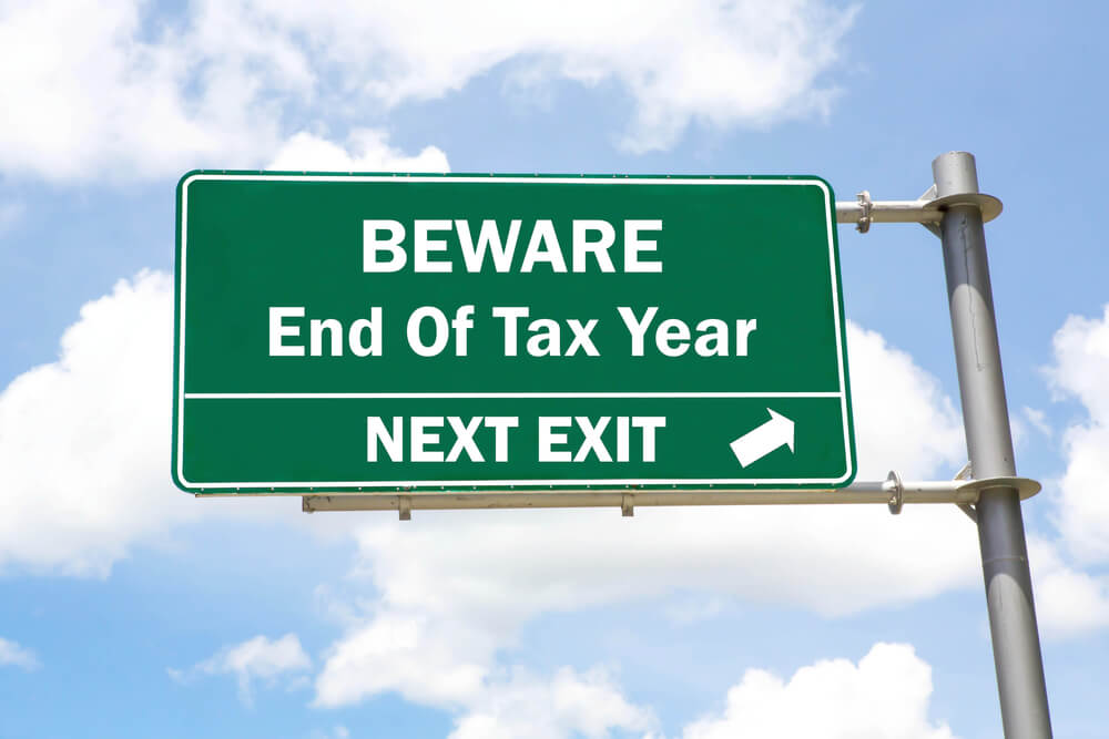 Beware End of The Tax Year
